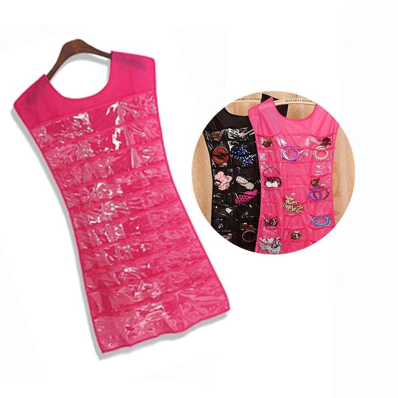 Evening Dress Small Black Dress Vest Storage Rack Hanging Bag Organizer Travel Accessories Organizers