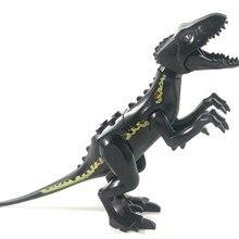 Один legoing Юрского периода динозавров парк птерозаврия Трицератопс Indomirus T-Rex мир фигурки кирпичи игрушки строительные блоки