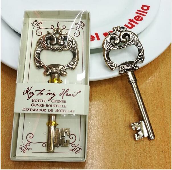 Promotie bruiloft souvenir antieke gouden sleutel tot mijn hart - Feestversiering en feestartikelen - Foto 3