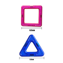 12pcs/set Magnetic Blocks DIY Building Kids Gift Accessories Constructor Designer Magnent Model Educational Toys for Children