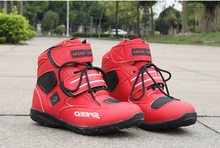 Ventas calientes más nuevas botas de moto velocidad del motorista pro moto racing motocross moto a005 zapatos negro/blanco/rojo tamaño 38-45