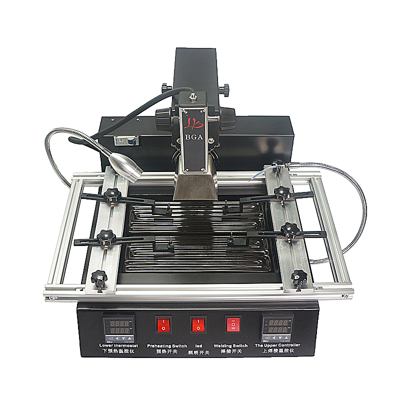 Cheapest BGA rework station LY M770 Infrared BGA machine BGA reballing station with parts