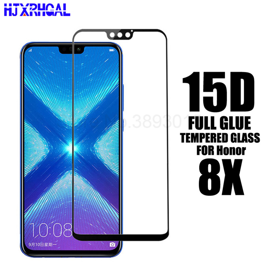 15D Full Glue Protective <font><b>Glass</b></font> for Huawei <font><b>Honor</b></font> <font><b>8X</b></font> Screen <font><b>Tempered</b></font> <font><b>Glass</b></font> cover for huawei honor8x 6.5 inch <font><b>Glass</b></font> Protector Film image