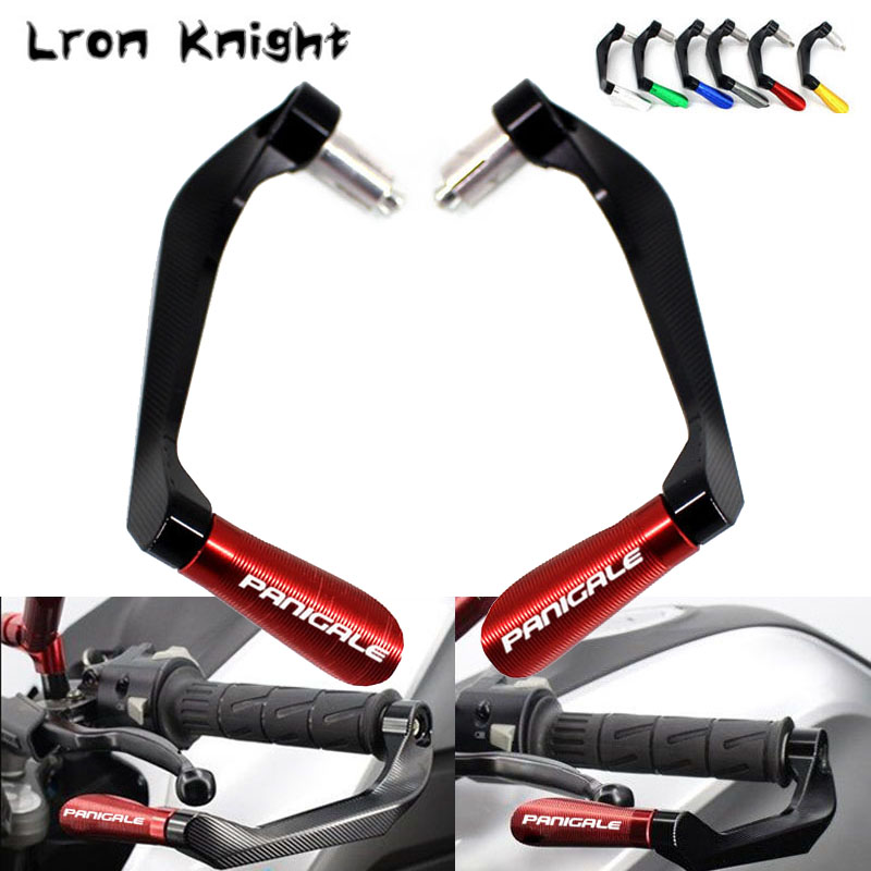 For DUCATI 899 959 1199 1299 Panigale / S/ Tricolor Motorcycle CNC Handlebar Grips Guard Brake Clutch Levers Guard Protector