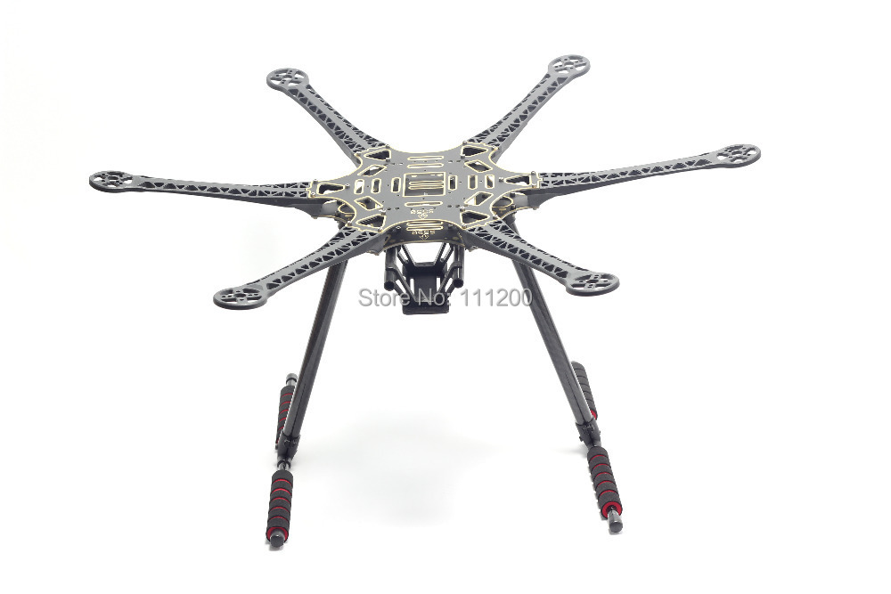 S550 F550 500 Upgrade Hexacopter Frame Kit with Landing Gear for FPV Mini S800 free shipping car refitting dvd frame dvd panel dash kit fascia radio frame audio frame for 2012 kia k3 2din chinese ca1016