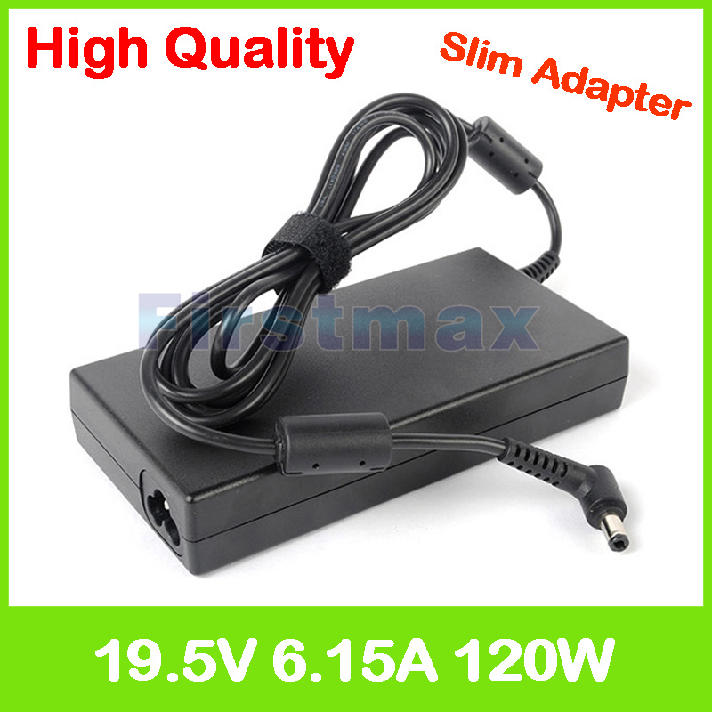 Slim 19.5V 6.15A laptop charger ac adapter for MSI GL72 2QC 2QD 2QE 2QF 6QC 6QD 6QE 6QF GP62 2QD Leopard 2QE 2QF 6QD 6QE 6QG-in Laptop Adapter from Computer & Office    1