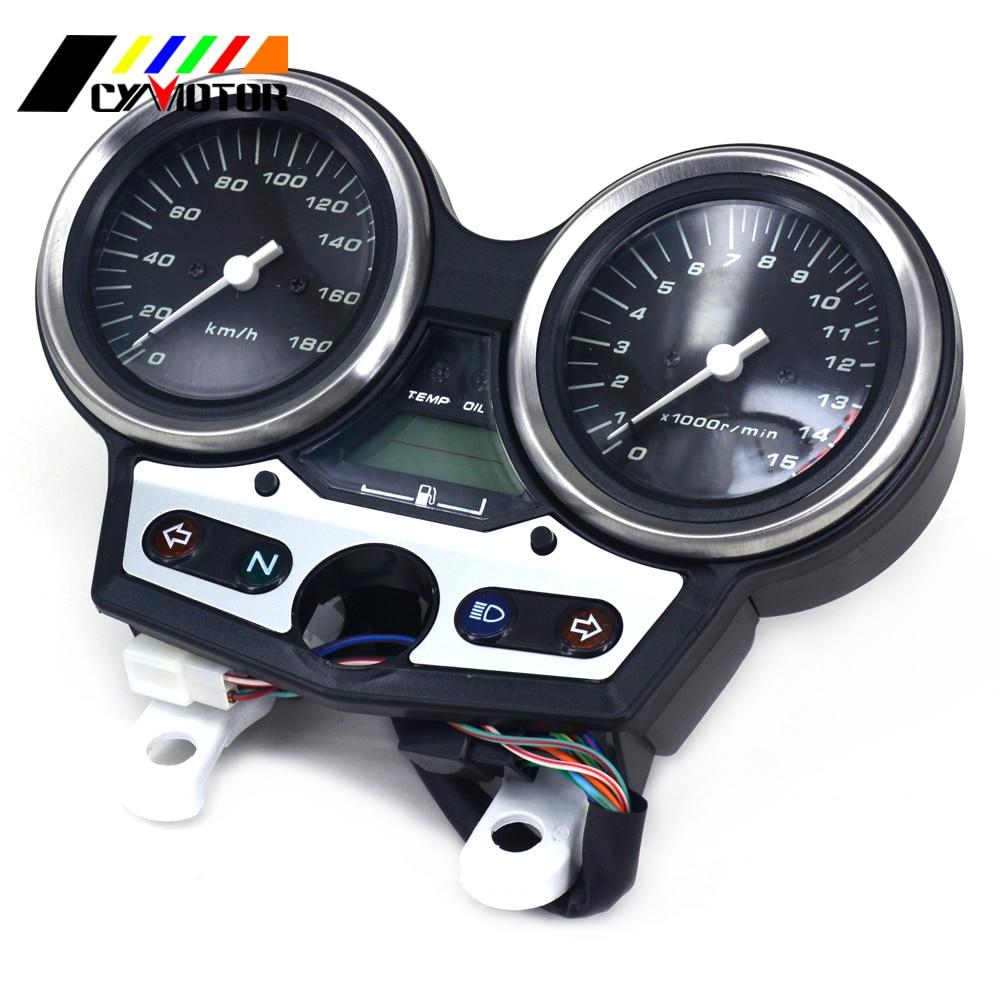 Motorcycle Gauges Cluster Speedometer Odometer Tachometer For HONDA CB400 CB 400 VTEC I