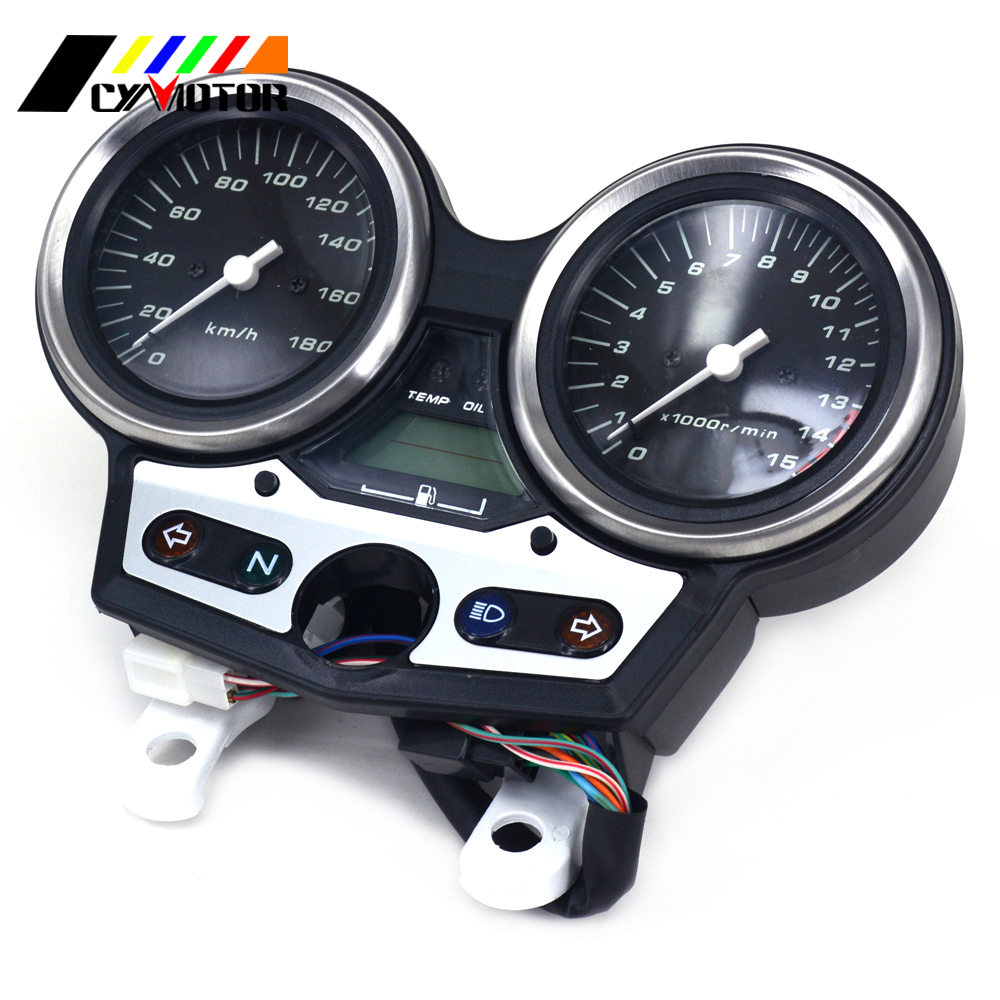 Motorcycle Gauges Cluster Speedometer Odometer Tachometer For HONDA CB400 CB 400 VTEC I цены онлайн