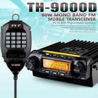 Brand New 60W 200CH 136 174MHz Scrambler VHF TYT Mobile Transceiver TH 9000D