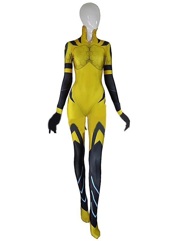 Adult D.VA B.VA Costume 3D Print dva bva SKIN Bodysuit Female/Women/Girls/Lady Catsuit Custom Halloween Cosplay Spandex Suit