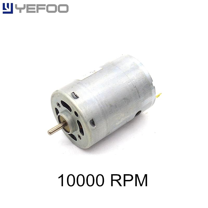 1pcs 2pcs 5pcs 10pcs r385 motor micro 12v 24v dc 10000 rpm for 10000 rpm electric motor