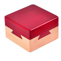 Classic IQ Mind Wooden Magic Box Puzzle Game For Adults Children Gifts Creative IQ Brain Teaser