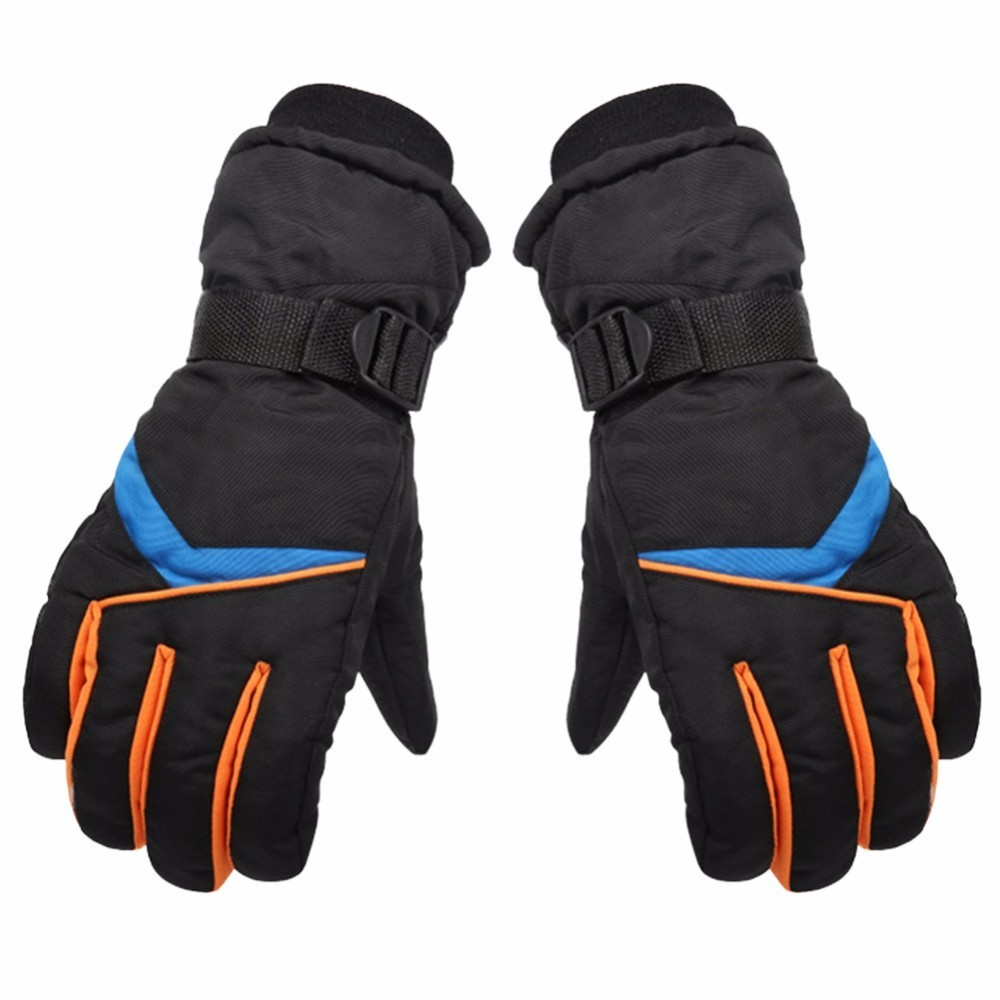 Outdoor Sports Gloves Waterproof Snowboard Skiing Riding Cycling Bike Windproof Winter Thermal Warm Gloves Unisex