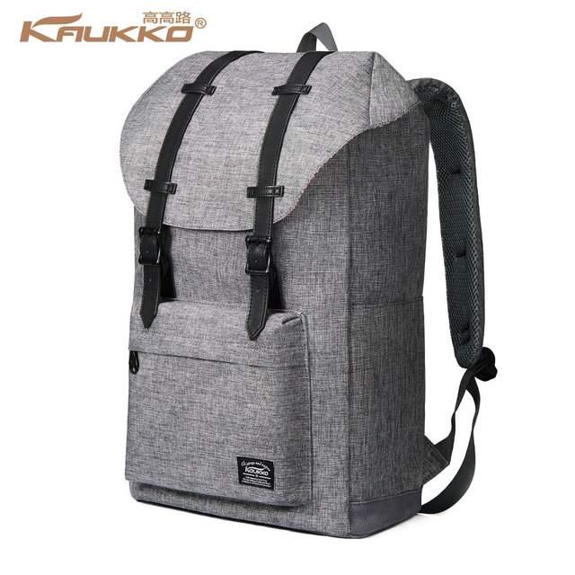 8cb0b9e3f25ba placeholder Backpack Women's Vintage KAUKKO Travel Backpacks Student  Backpack Laptop Backpack for 14