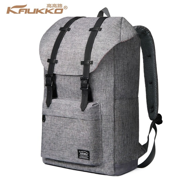 c620f232e5991 Plecak damski W Stylu Vintage KAUKKO Podróży Plecaki Uczeń Plecak Plecak Na  Laptopa do 14