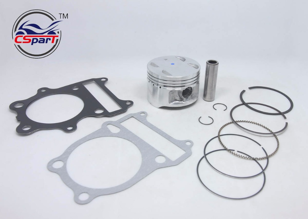 78MM 18MM Piston Kit Ring Gasket For Loncin 300 300CC GN300 Suzuki ATV Dirt Bike Parts поршень loncin gn300