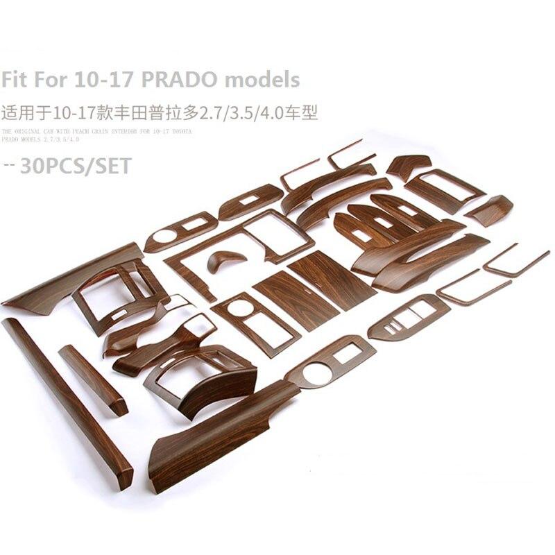 Car Interior Accessories Interior Moulding Trim for Toyota Land Cruiser Prado 150 LC150 FJ150 2014 2015