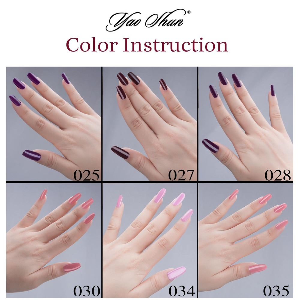 Gel Len Nail Art Uv Varnish Soak Off Polish Tips 8ml Bottle 300 Fashion Colors Are Available Pick One In From Beauty Health On