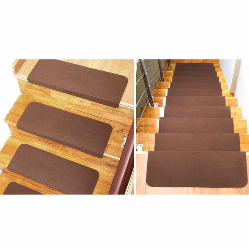 5cs Self Adhesive Non Slip Floor Staircase Carpets Solid Claw Pattern Glow In Dark Stair Treads Protector Mats Home Decor