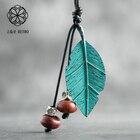 Green Leaf Pendant V...