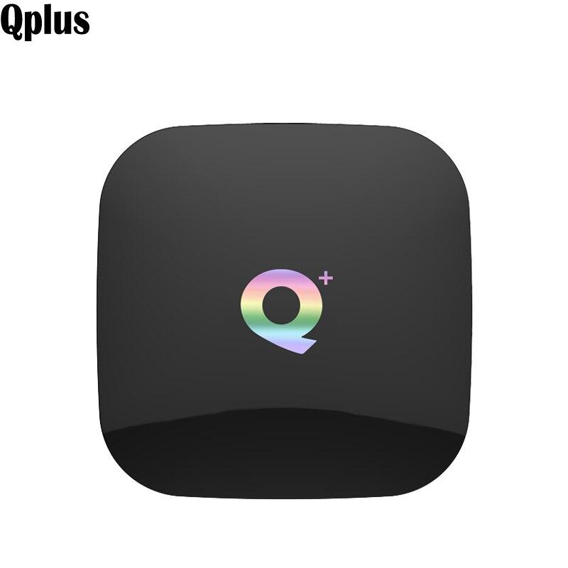 Qplus Android 8 1 TV Box Quad Core Allwinner H6 Smart WIFI Media Player H 265