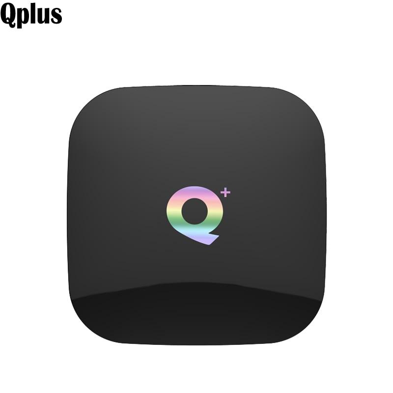Qplus Android 8.1 TV Box Quad Core Allwinner H6 lecteur multimédia WIFI intelligent H.265 HEVC USB3.0 décodeur HD sans fil 4 GB RAM 64 GB-in Décodeurs TV from Electronique    1