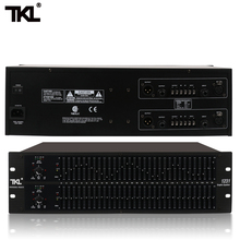 TKL 1231 Equipment Voltage limiter Audio Sound System Graphic Dual Channel 31 Band Stage DJ Equalizer Processors