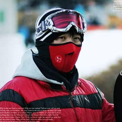Теплая полумаска для шеи зимняя спортивная маска ветрозащитный для велоспорта велосипедная маска лыжные нагрудники Лыжные Сноуборд наружные маски пыль