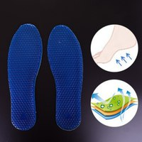 DN19 BDA501 505 Gel Insoles Silicone Insoles Massaging Sport Shoe Pads Orthotic Arch Sport Shoe Foot Care Pad