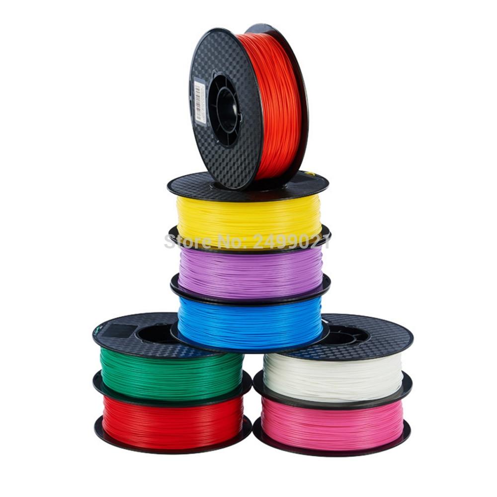 1 кг pla 3D накаливания Принтер 1.75/3.0 мм охраны окружающей среды расходные материалы для 3D принтера