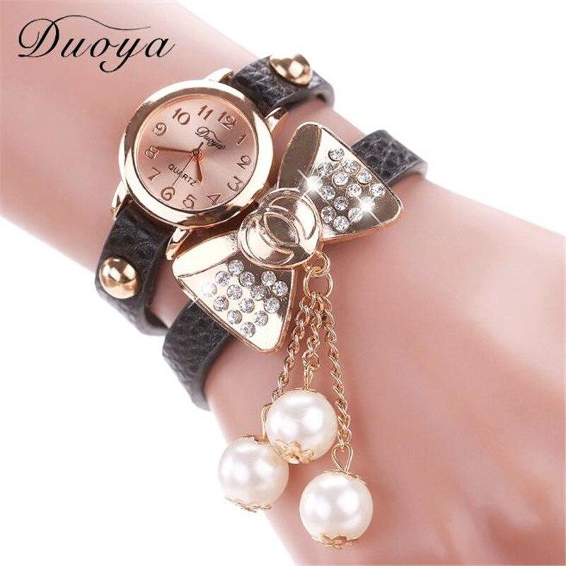 Duoya New Brand Femmes Mode Casual Bracelet En Cuir M