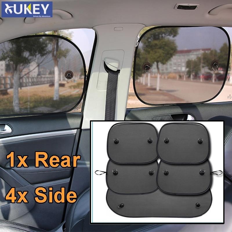 2× Car Side Front Rear Window Sun Shade Shield Visor Mesh Screen Baby Sunscreen