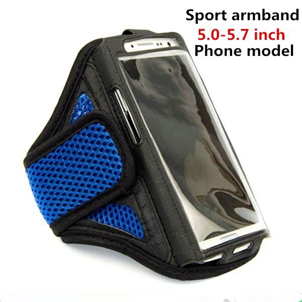 WolfRule 5,0-5,7 pulgadas brazalete bolsa de deporte funda de teléfono móvil para Xiaomi Redmi 7A 6A 6 8A 8 5A 5 banda de brazo para correr para Samsung Note 4  Brazaletes negros impermeables para el gimnasio Oneplus 6t 6 5t 5 3t 3 2X1 One Plus 1 + 6t 1 + 6 1 + 5t 1 + 5 funda para el brazo para correr deportes