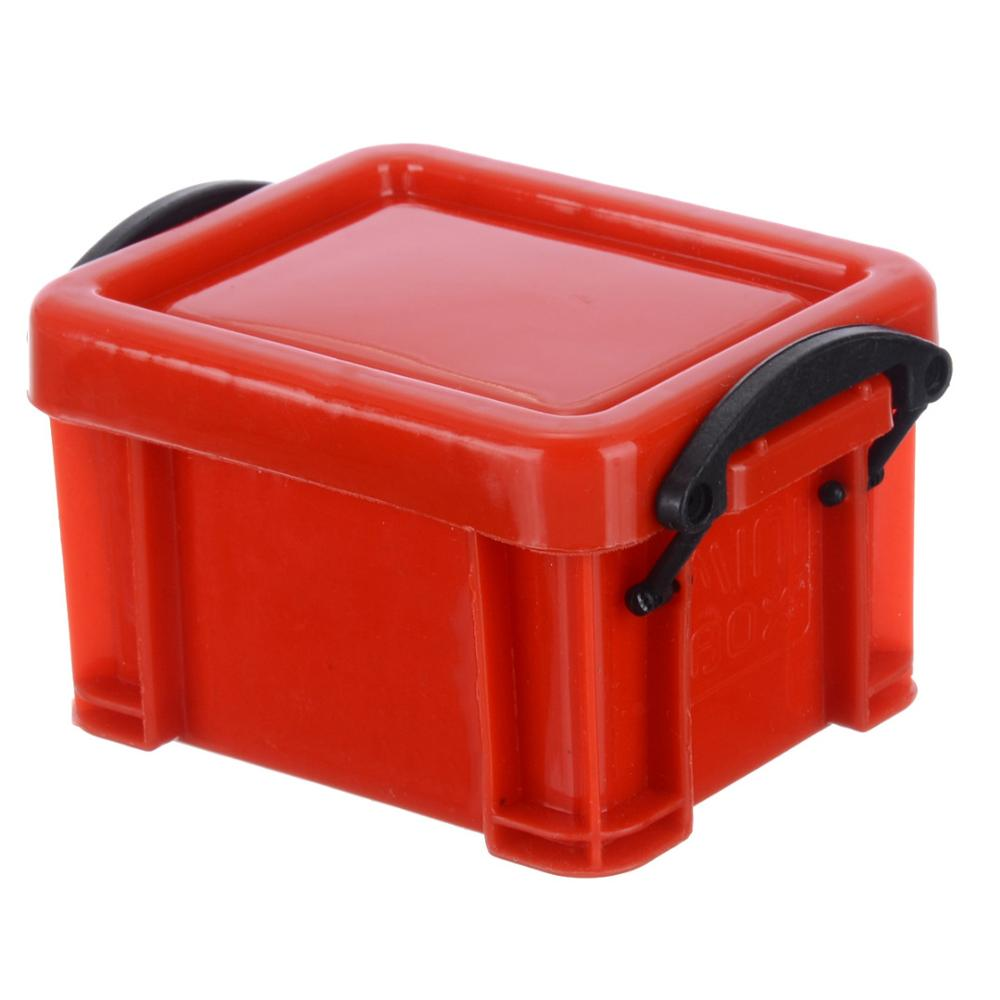 Mini Universal Plastic Storage Case For 1 10 Scale RC Rock Crawler Car Model Storage Box Blue Green Purple Red Yellow in Parts Accessories from Toys Hobbies