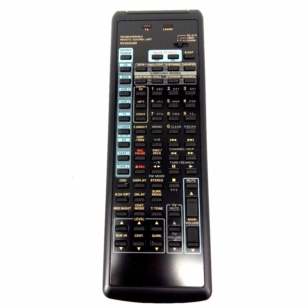 NEW Original for Marantz/Philips RC5000SR Programable/Learning RC5/6 Handheld Remote Con ...