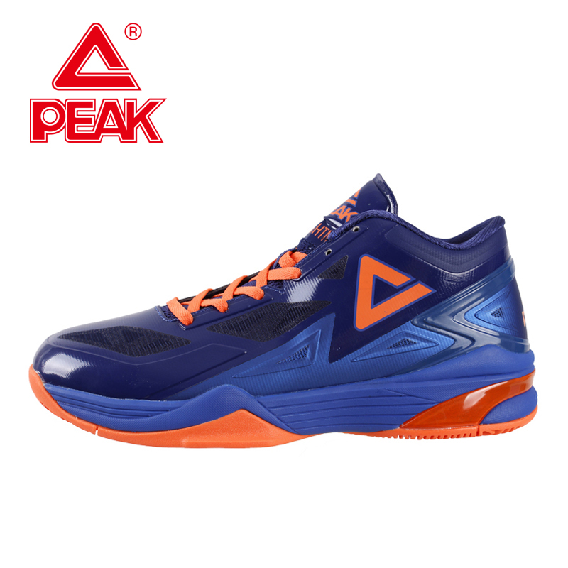 PEAK SPORT Lightning II Men Authent Basketball Shoes Competitions Athletic Boots FOOTHOLD Cushion-3 Tech Sneakers EUR 40-50 peak sport hurricane iii men basketball shoes breathable comfortable sneaker foothold cushion 3 tech athletic training boots