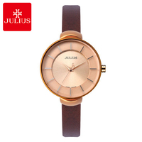 2016 Big Sale Women Genuine Leather Strap Wrist Watch Womens Dress Fashion Casual Antique Watch Original
