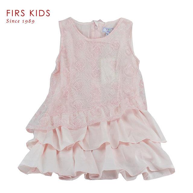 FIRS NIÑOS 2015 Nuevo verano vestido de la muchacha sin mangas niños ropa de moda, elegantes vestidos de Fiesta de Disfraces Vestido de chica de moda niñas