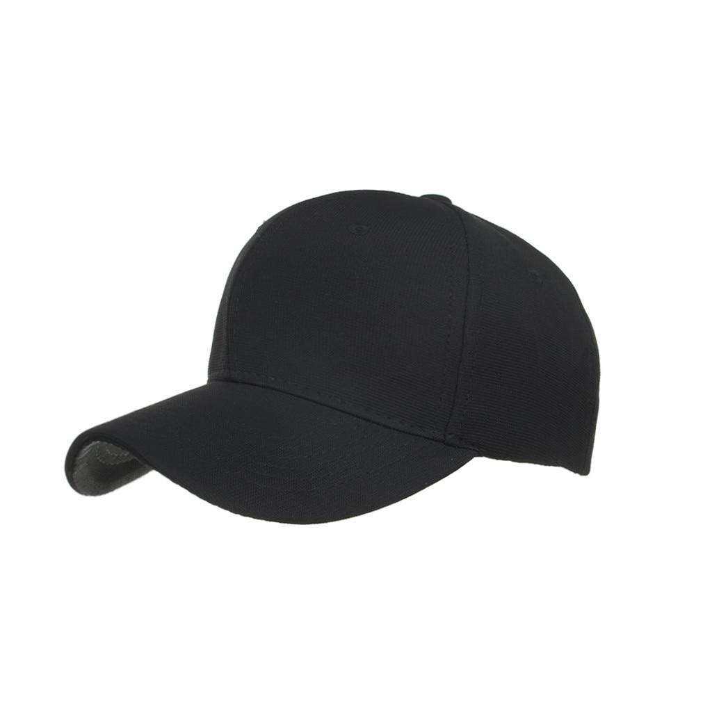 Kopfbedeckungen Für Herren Einfarbig Baseball Kappe Sommer Reise Outdoor Visiere Caps Fashion Einfache Modis Biegen Hut Czapka Z Daszkiem Casquette Herausragende Eigenschaften
