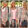 Women New Fashion Aztec Printed Cardigans