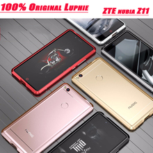 LUPHIE Brand ZTE nubia Z11 case bumper ultra thin amazing highly oxidized aircraft aluminum metal frame for ZTE Nubia Z11 pro