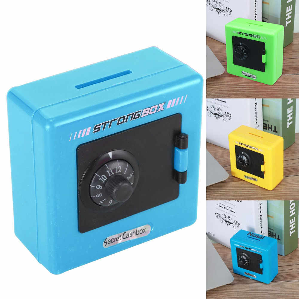 Combination Lock Money Coin Saving Storage Box Code Cash Safe Case Piggy Bank Children Toy Money Boxes 2019 Hot Sale  *C