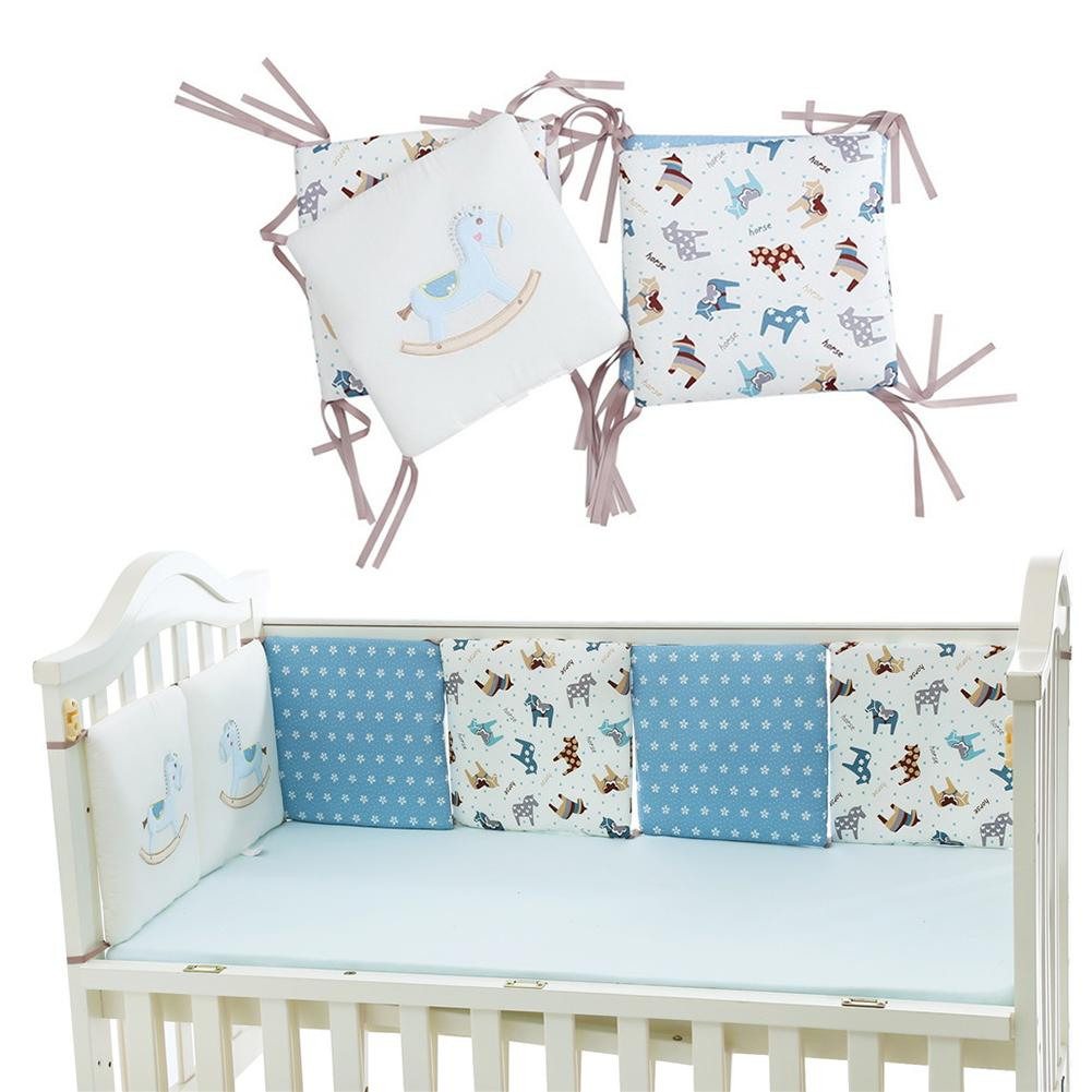 Bumpers Baby Bedding The Cheapest Price 6 Pcs Per Set 30*30cm Cotton Crib Bedding Bed Bumper Fence