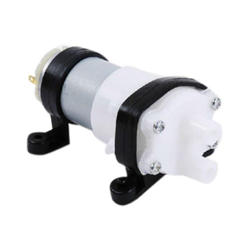 Neue Dc6-12v Membran Pumpe Multifunktions 385 Wasser Pumpe Mit Halterung Aquarium Pumpe Motor Für Auto Peeling Getreide Öl Mini Pumpe