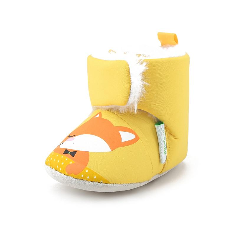 Kuning Fox Tung Rh Bayi Bayi Sepatu Kapas Murni Nyaman Hangat Musim Dingin  Boots Sepatu Bayi Balita Hewan Super Cute Bayi 04612dc9e2