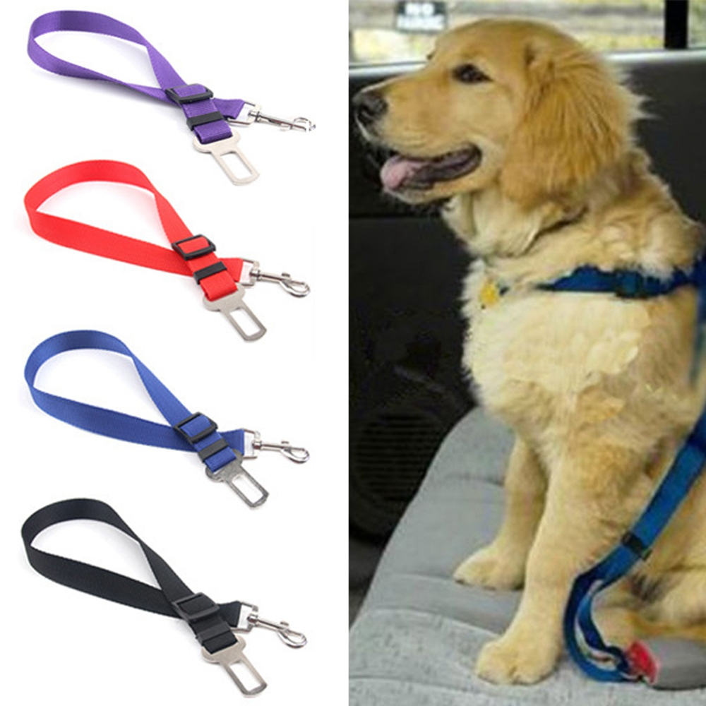 Newest!!!  Pet/dog Car Travel Safety Seat Belt Clip Lead Adjustable Safety Harness Auto Traction #1