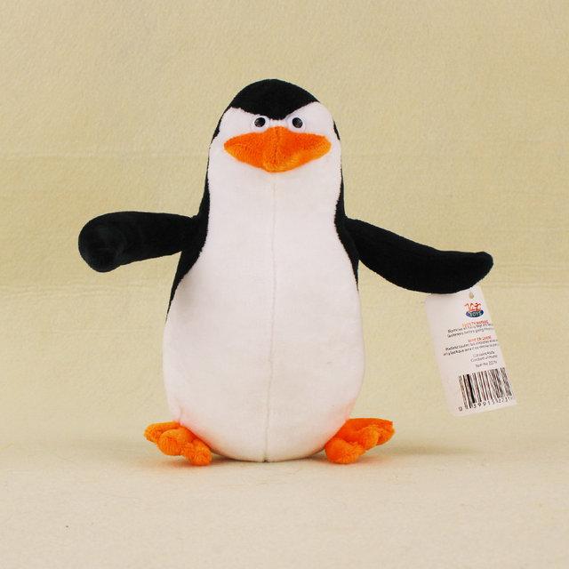 Madagascar 5 Classic Plush Dolls Penguin Skipper Lion Alex Zebra Marty King Julien Hippopotamus Gloria Kids Gifts Toys
