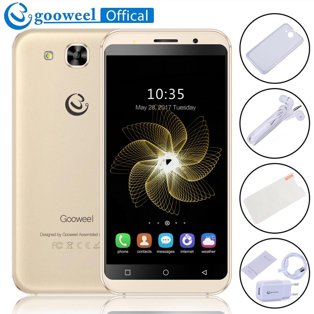 Gooweel S8 Cell phone MT6580 quad core 5 3 inch IPS HD Smartphone 1GB RAM 8GB
