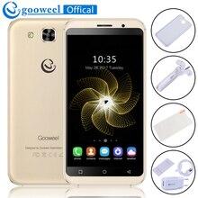 Gooweel S8 сотовый телефон mt6580 Quad Core 5.3 дюймов IPS HD смартфон 1 ГБ Оперативная память 8 ГБ Встроенная память 5mp + 5mp камеры GPS 3G мобильного телефона бесплатный подарок