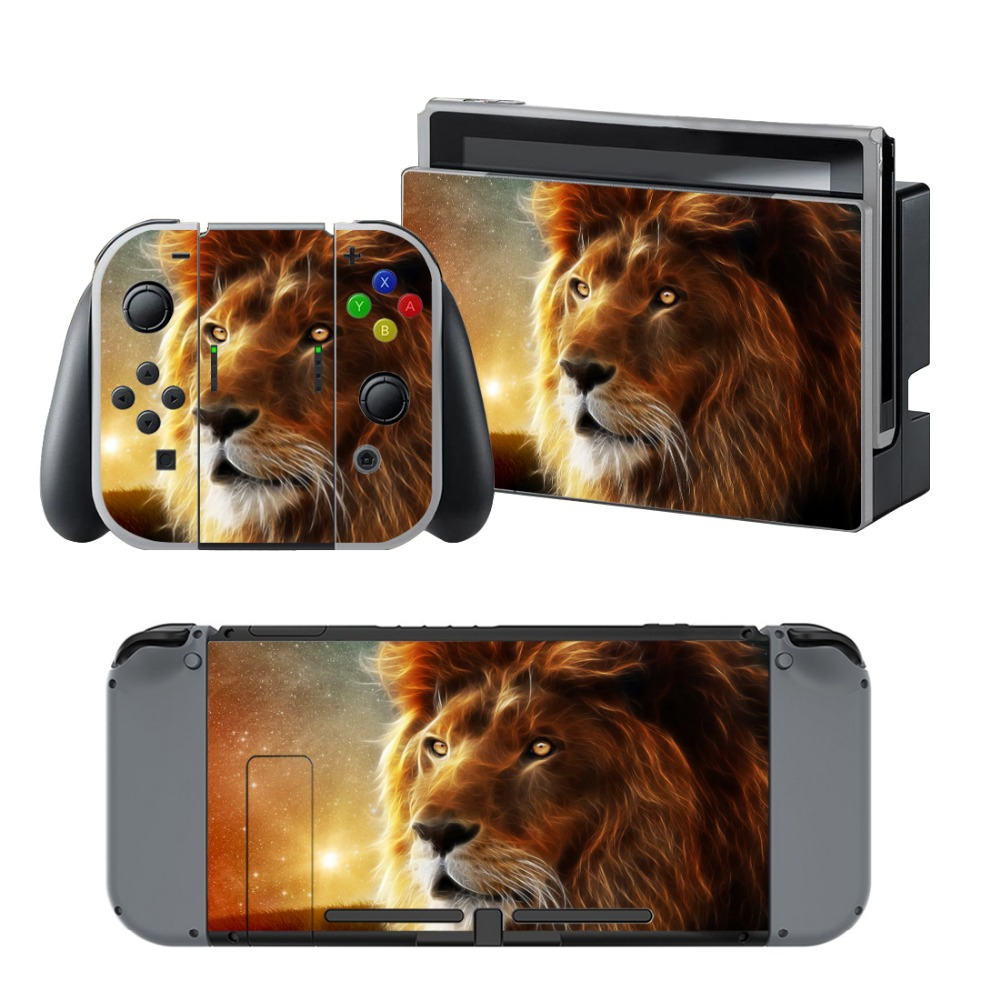 Newly Arrival Vinyl Skin Sticker for Nintendo Switch Console Protector Cover Decal Vinyl Skin for Skins Stickers 0142